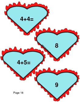 Heartful Math, Writing, Puzzle and Compound Word Centers