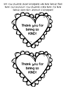 Heartprints Printables