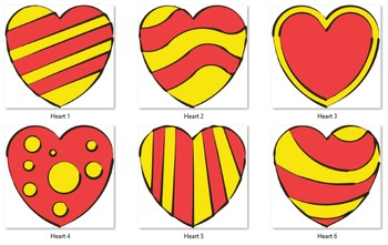 Hearts ( 6 images )