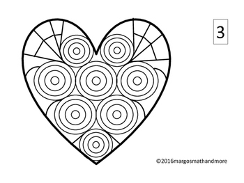 Hearts A Flutter Valentine Cards & Coloring for Calm