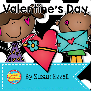 Valentine's Day Math and Literacy Kit {CCSS Aligned}