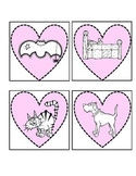 Hearts A Plenty CVC game for Kindergarten