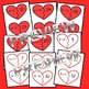 Hearts Addition Puzzles (sums 0-20)
