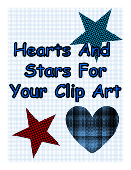 Hearts And Stars For Your Clip Art