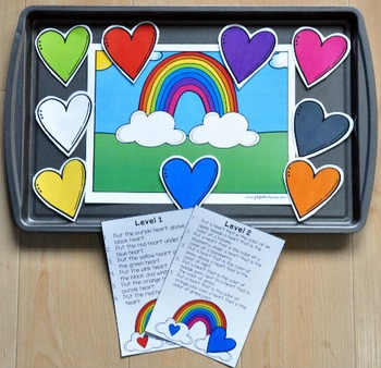 "Valentine's Day Adapted Book and Vocabulary Activities: ""Hearts Are Many Colors"""