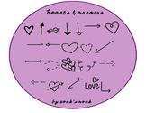 Hearts & Arrows Font