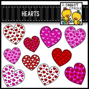 300 Follower FREEBIE - Hearts Clip Art Bundle