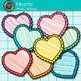 Valentine Heart Clip Art {Rainbow Crayon Graphics for Work