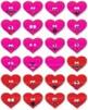 Hearts Clip Art: Funny Face Hearts