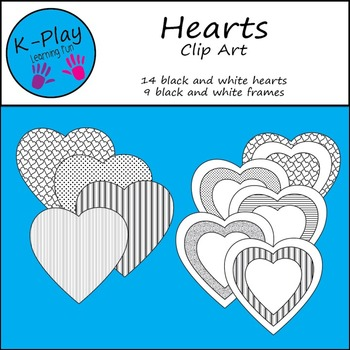 Hearts Clip Art and Frames