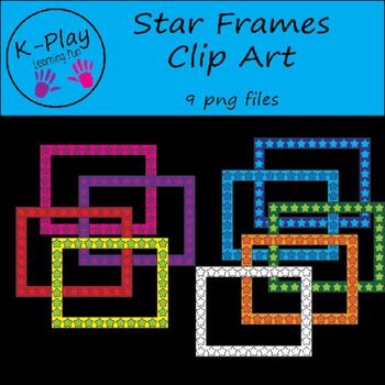 Clip Art Star Frames