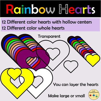 Hearts Clipart Shapes