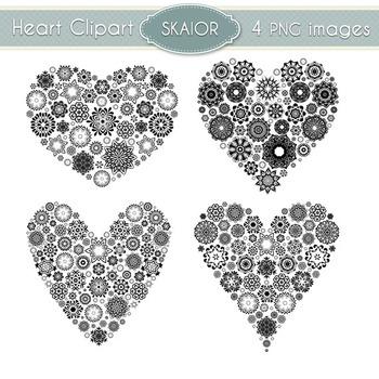 Hearts Clipart Heart Clip Art Love Scrapbooking Wedding Invitations Valentines