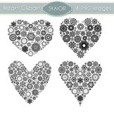 Hearts Clipart Heart Clip Art Love Scrapbooking Wedding In