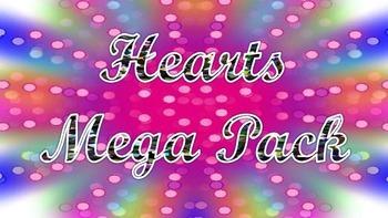 Hearts Clipart MEGA Pack
