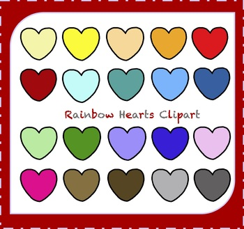 Hearts Clipart / Valentine's Day Clipart