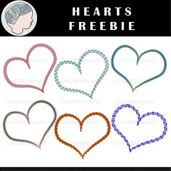 Hearts Clipart - Valentine's Day Clipart