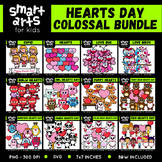 Hearts/Valentines Day Clip Art COLOSSAL Bundle