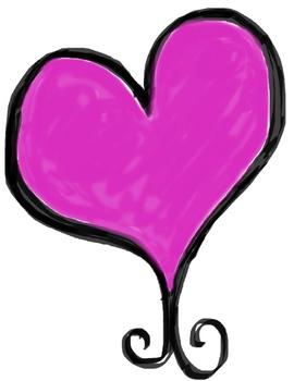Hearts Digital Graphics, Hearts Clip Art