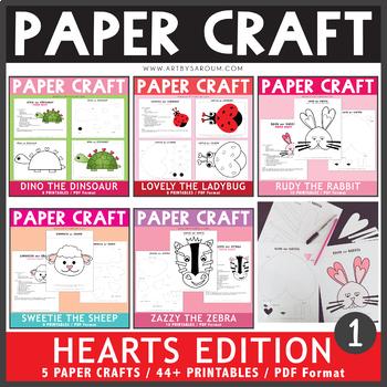 Hearts Edition Paper Craft Bundle 1
