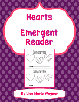 Hearts Emergent Reader