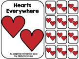 Hearts Everywhere- A Valentine's Day Adapted Book {Autism, Early Childhood}