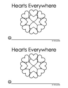 Hearts Everywhere Emergent Reader