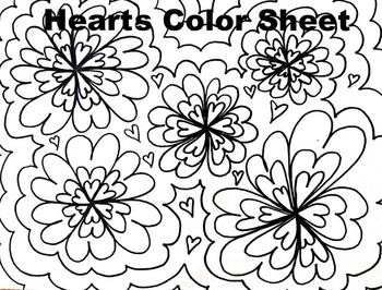 Flowers Coloring Teaching Resources | Teachers Pay Teachers