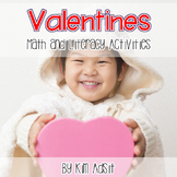 Valentines - Math and Literacy Games and Activities v3.0