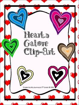 Hearts Galore Clip-Art