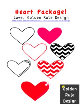 Hearts Graphics Freebie