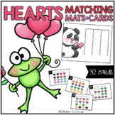 Hearts Matching Mats and Activity Cards (Patterns, Colors,