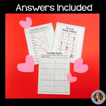 Number Match {Numbers 0-20 Activity}