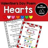 Valentine's Day Poem- Hearts