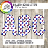 Bulletin Board Letters Pop Art Hearts
