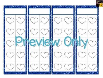 Hearts Sticker Charts