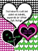 Hearts - Valentine papers and hearts {Sweet Line Design Clipart}
