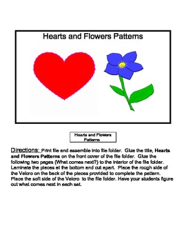 Hearts and Flowers Patterns