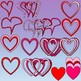 Hearts and Frames Clipart