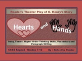 Hearts and Hands: CCSS Aligned Reading and Writing Critical Thinking Activities