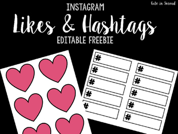 Likes and Hashtags