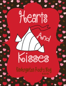 Hearts and Kisses On Valentine's Day