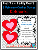 Hearts and Teddy Bears Common Core Centers February Bundle