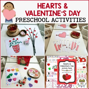 Valentine's Day Preschool, Pre-K and Tots Activities