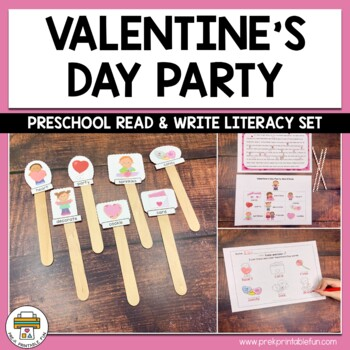Valentine's Day Preschool, Pre-K and Tots Activities