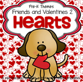 Hearts and Valentines Centers, Activities and Printables