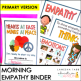 Hearts at Ease, Minds at Peace: Morning Binder Activity