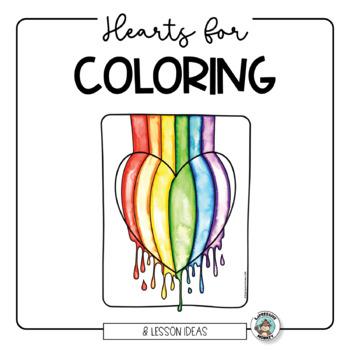 Valentine Hearts for Coloring