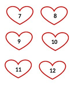 Hearts for Valentine's Day