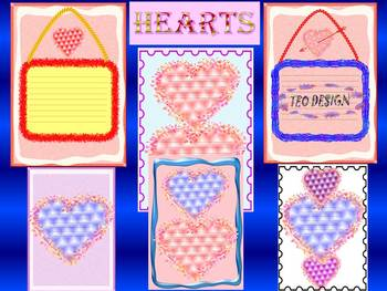 Hearts - Clip Art - Personal or commercial use